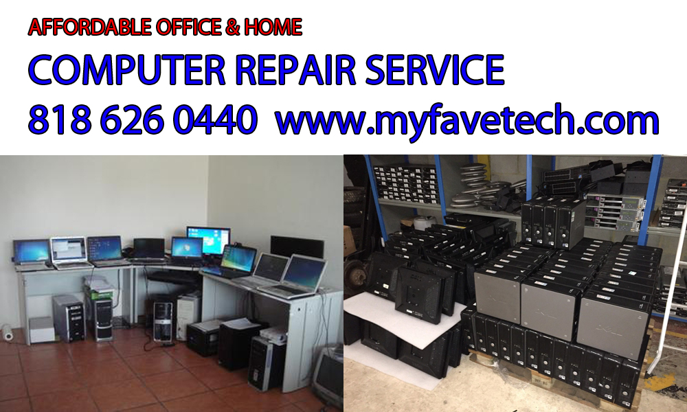 computer repair North Hollywood technician
