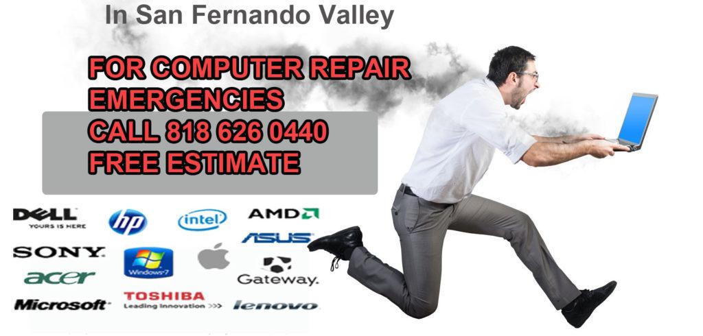 North Hollywood computer repair shop